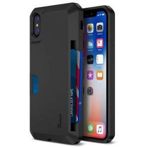 Trianium iPhone X Wallet Case [Walletium Series]