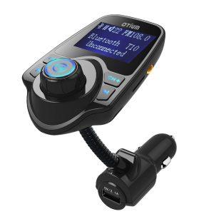 FM Transmitter, Otium Bluetooth Wireless Radio Adapter