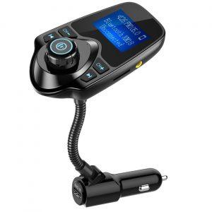 WirelessNulaxy In-Car Bluetooth FM Transmitter