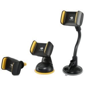 Z-Edge 3 in 1 Universal Cell Phone Car Mount Cradle Holder