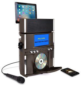 kai KS800-BT Bluetooth Front Load CD&G Karaoke System