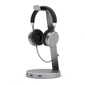 Satechi Aluminum USB Headphone Stand Holder